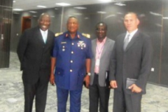 At Defense Inelligent Agency DIA in Abuja.